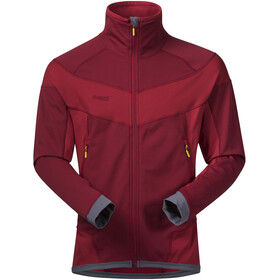 Bergans Roni Jacket Herr burgundy/red